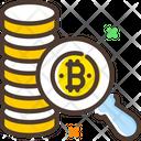 Search Bitcoin Find Bitcoin Bitcoin Icon