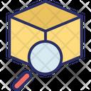 Find Box Search Box Cube Icon