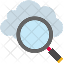 Cloud Computing Find Icon