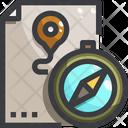 Compass File Location Icon