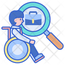Find Disabled Job Icon