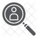 Person Search Recruitment Icon