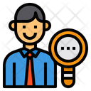 Search Business Headhunting Icon