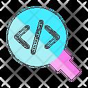 Find Error In Code Icon