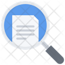 Study Search Document Icon