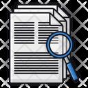 Find File Search File Search Document Icon