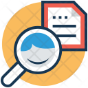 Find File Magnifier Icon