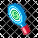 Money Magnifier Web Icon