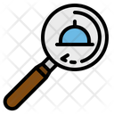 Find Food Magnifying Icon