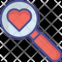 Find Heart Heart Love Icon