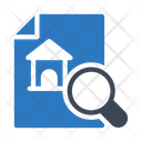 Search Document House Icon