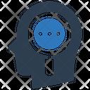 Search Mind Head Icon