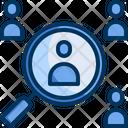 Risk Search Find Icon