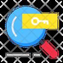 Keyword Find Keyword Engine Icon