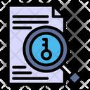 Find Keyword Keyword Seo Icon