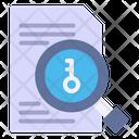 Keyword Seo Search Icon