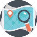 Location Finding Search Icon