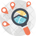 Global Search Magnifier Icon