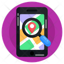 Find Location Search Location Location Analysis Icon