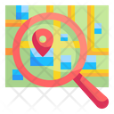 Find Location Search Find Icon