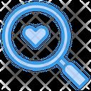 Find Love Love Search Icon