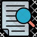 Audit Doc Document Icon