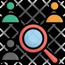 Find Person Find User Search Person Icon