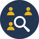 Find Person Find User Search Person Icon