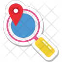 Find Place Magnifier Icon