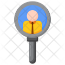 Find Professionals Find Profession Proficiency Icon