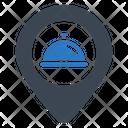 Find Restaurant Location Icon