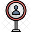 Find User Human Resource Job Applicant Icon
