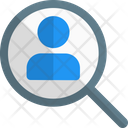 Find Voter Search Voter Search Candidate Icon