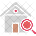 Finding House Home Inspection Home Search Icon
