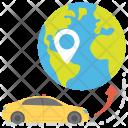 Finder Location Car Icon