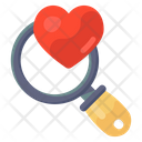 Finding Love Looking Love Search Partner Icon