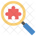 Finding Solutions Strategic Search Problem Solving Icon