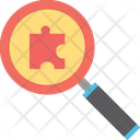 Finding Solutions Problem Solving Search Engine Icon