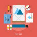 Fine Art Design Icon