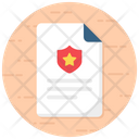 Fine Report Star Report Verified Sheet Icon