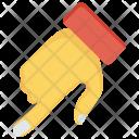 Arrow Interactive Finger Icon