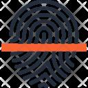 Finger Fingerprint Identity Icon