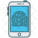 Finger Scanner Security Icon