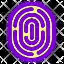Finger Finger Lock Fingerpint Icon