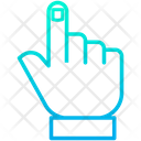 Hand Voted Person Vote Sign Icon