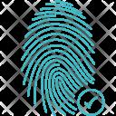 Finger Fingerprint Scan Icon