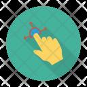 Finger Hand Handgaster Icon