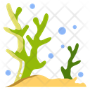 Finger Coral Coral Sea Animal Icon