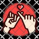 Finger cross Icon