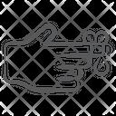 Finger Cut Finger Injury Medical Treatment Icon